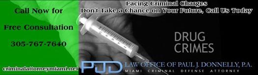 Drug Crime Miami